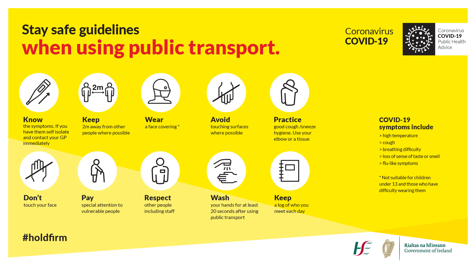 COVID-19 Guidelines for Public Transport